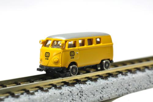 BREKINA:VW T1bミニバス(鉄道走行車)・その2