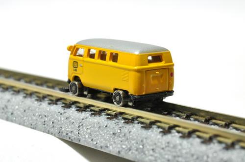 BREKINA:VW T1bミニバス(鉄道走行車)・その3