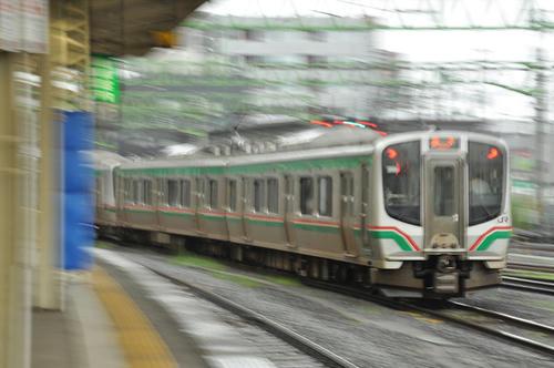 E721系(ブレブレ・泣)