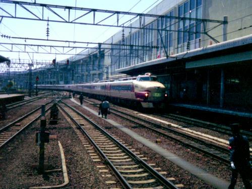 仙台駅構内にて(1980年頃)