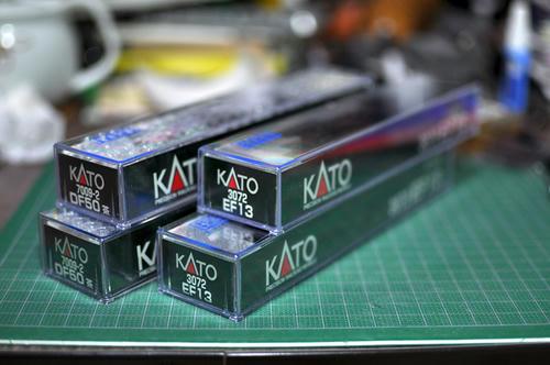 KATO:DF50(茶) & EF13