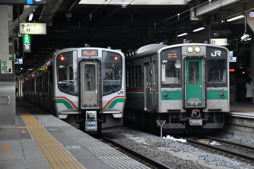 E721系0番台&701系(2017年12月31日)
