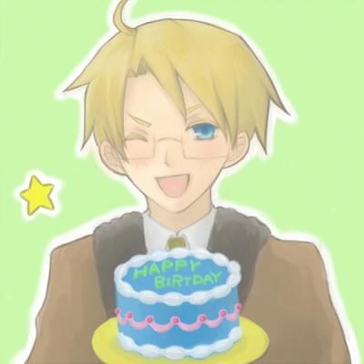ケーキもアメリ○ンな色☆