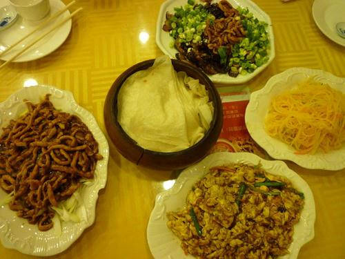 中国東北部の料理!