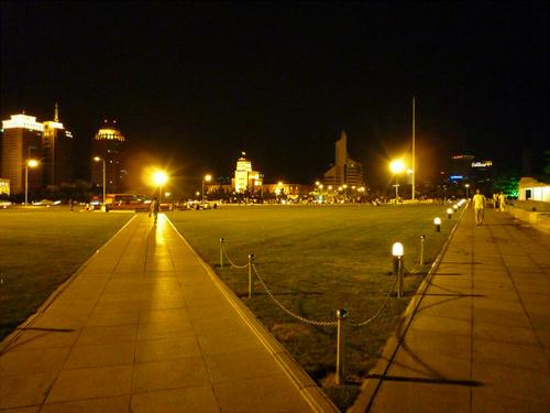 夜の公園!!