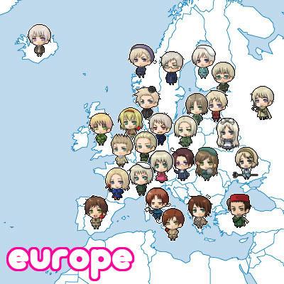 ヨーロッパ勢!!