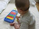 ボーネルンド,シロフォン,鉄琴,おすすめおもちゃ,トイ,おもちゃ楽器,感想,レビュー