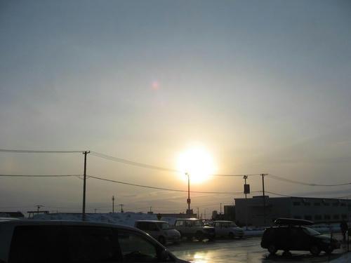 130のそぉ~ら 夕陽は・・・