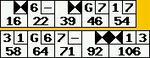 2006/07/09ボウラードのスコア記録