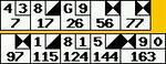 2006/07/13ボウラードのスコア記録