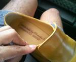 レフトフットカンパニーさんのカスタム靴