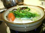 手作り湯豆腐・寂しい一人鍋