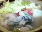 牡蠣鍋ちゃんこ風