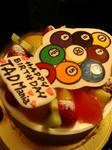 TAD Mania Birthday Cake