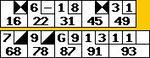 2007年10月04日ボウラードネット成績1回目