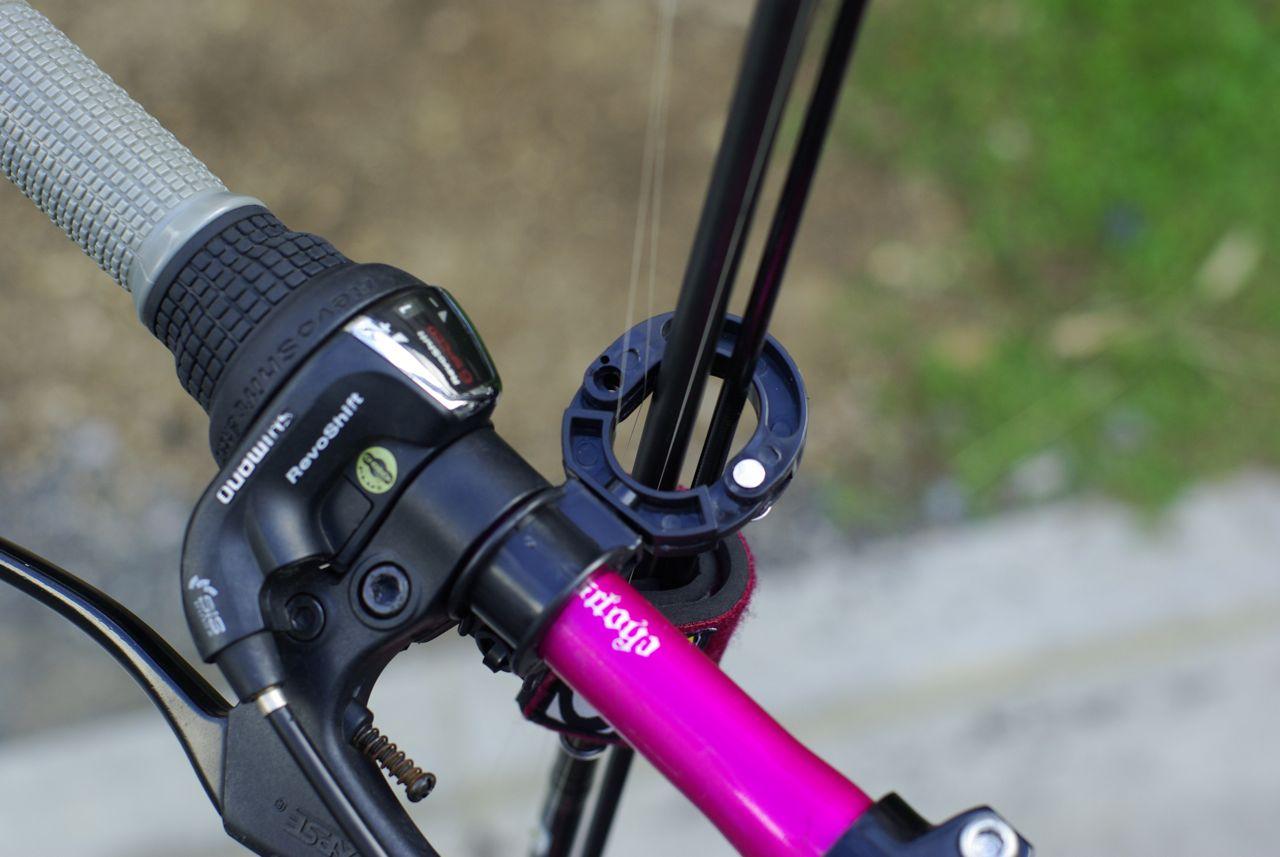 自転車 傘ホルダー