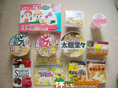 日清食品株主優待|インスタント食品、カップ麺