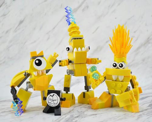 レゴ ミクセル 「41506 テスロ」「41507 ザプター」「41508 ボレクトロ」