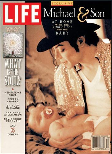 LIFE、97年マイケル表紙号