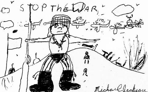 マイケル・ジャクソンのイラスト