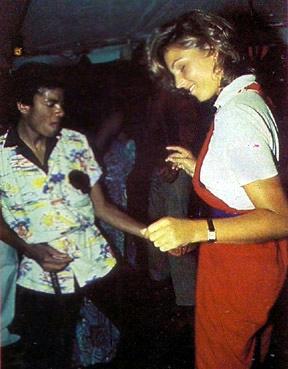 マイケル・ジャクソンとテータム・オニール、1979年