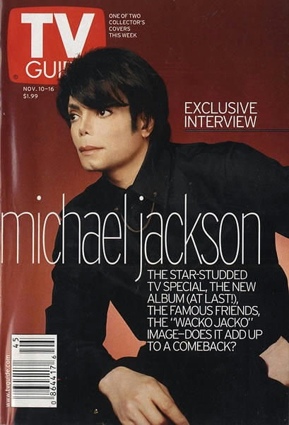 雑誌『TV Guide』インタビュー、2001年。