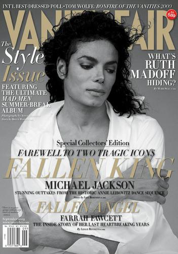 雑誌『Vanity Fair』、表紙