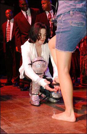 2003年、マイケル45歳バースデーパーティ