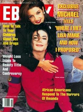 雑誌『EBONY』、1994年10月号。