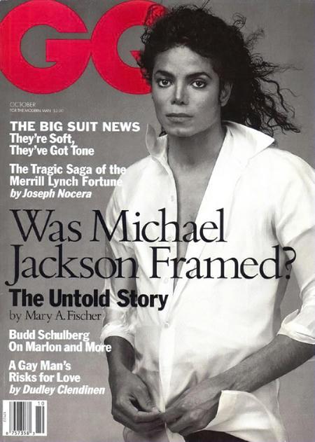 1994年『GQ』、Was Michael Jackson Framed?