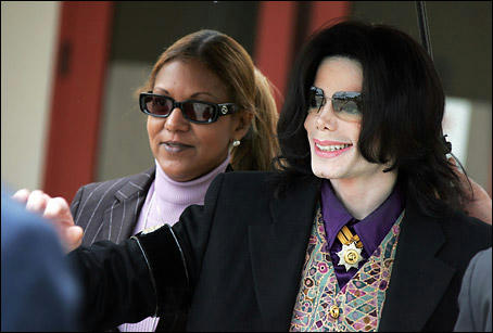 Michael Jackson and Raymone Bain