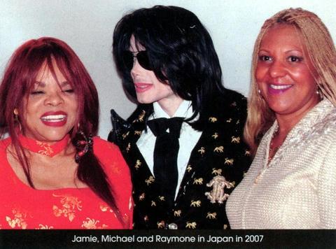 2007年、来日時。ジェイミー、マイケル、レイモン。