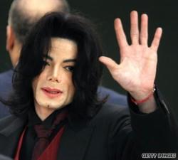 2005年、マイケル・ジャクソン