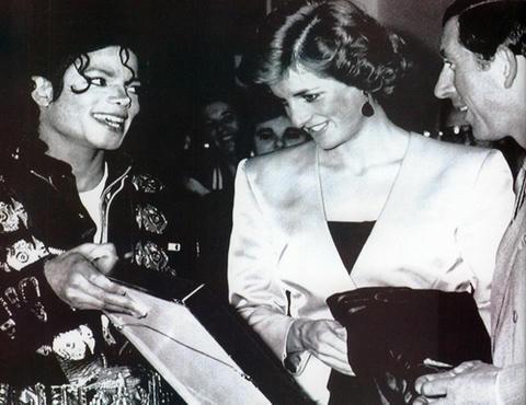 BADツアー、マイケル・ジャクソン、プリンセス・ダイアナ
