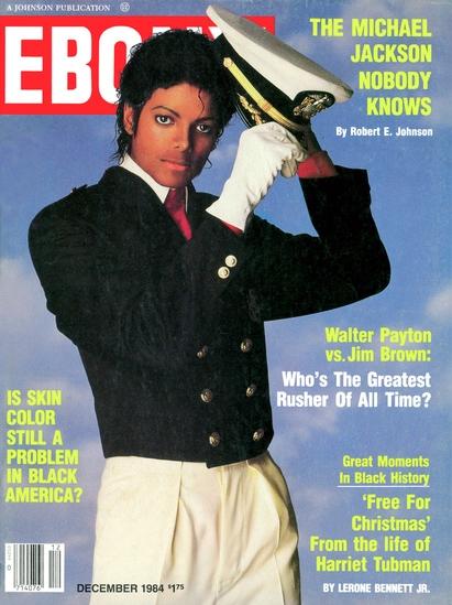 雑誌『EBONY』、1984年。