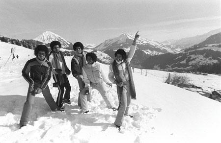 1979年、ジャクソン5、スイス