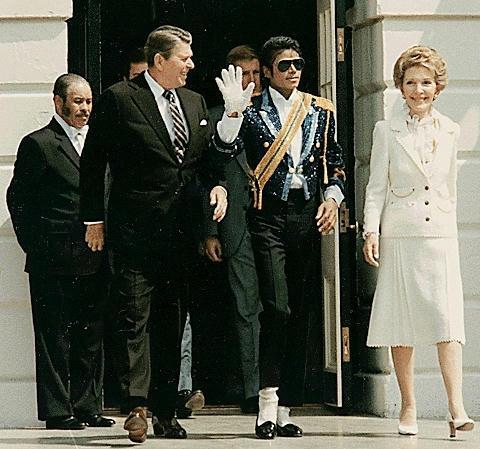 マイケル・ジャクソン、1984年、ホワイトハウス