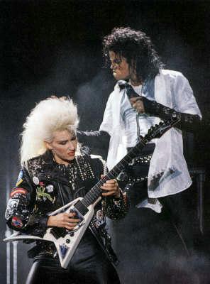 1987年、マイケル・ジャクソン、BADツアー、ジェニファー・バトゥン