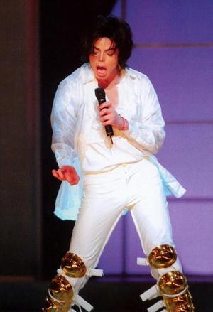 2001年、30THアニバーサリー・コンサート、マイケル・ジャクソン