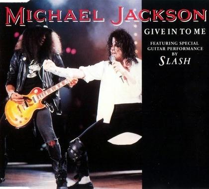 マイケル・ジャクソン スラッシュ GIVE IN TO ME