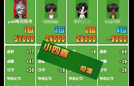 小四喜 ハンゲーム