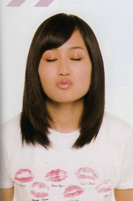 前田敦子のキス顔写真