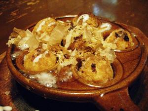 チーズたこ焼き関西風