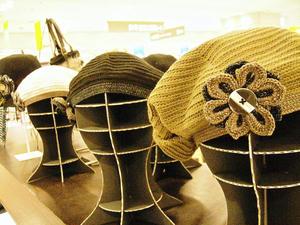 帽子たちも素敵なの