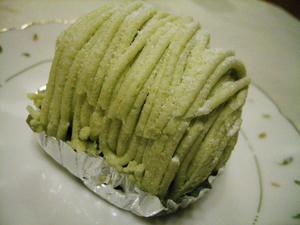 枝豆モンブラン