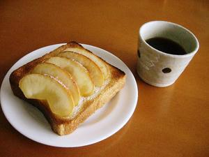 おりんごりんごトースト。
