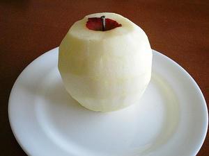 まるはだかりんご。