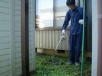 除草剤散布