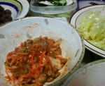 納豆キムチ