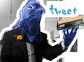 Twitter「つぶやく」ボタン